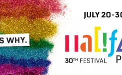 Halifax Pride starts July 20-30th!