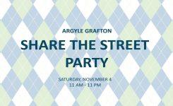 Argyle Grafton Share the Street Party