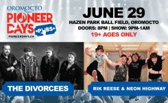 Oromocto Pioneer Days PUBS concerts